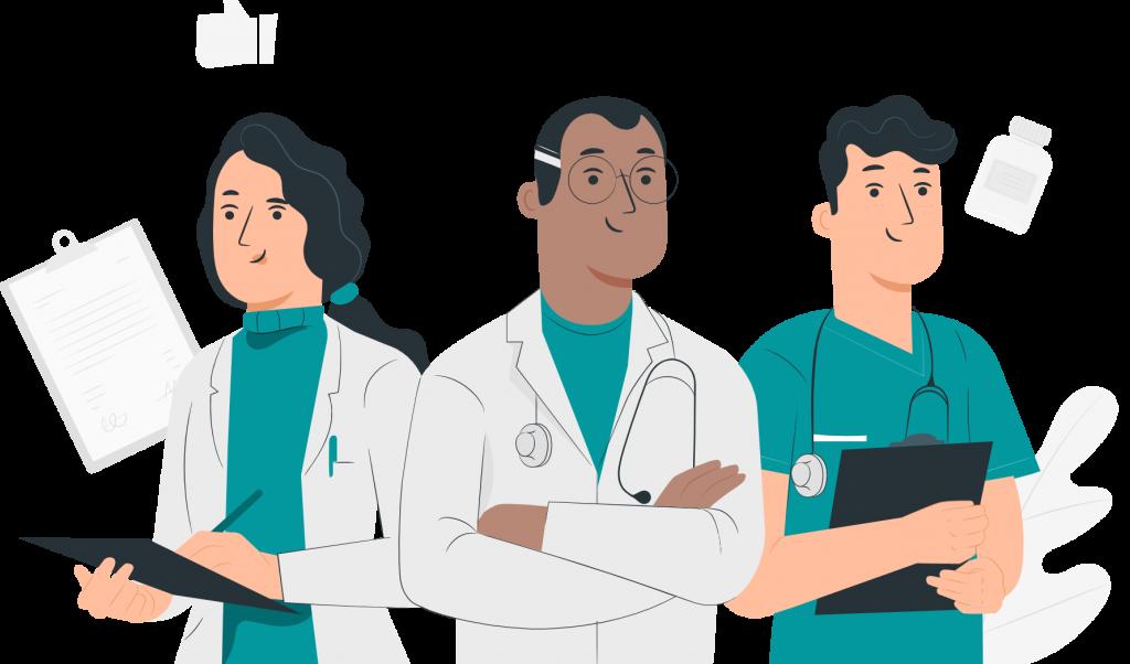 Professionnels de santé de MSP